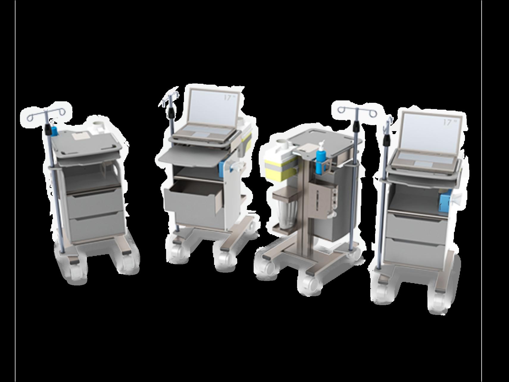 Phlebotomy Mobile Workstation PB-10 PB-02