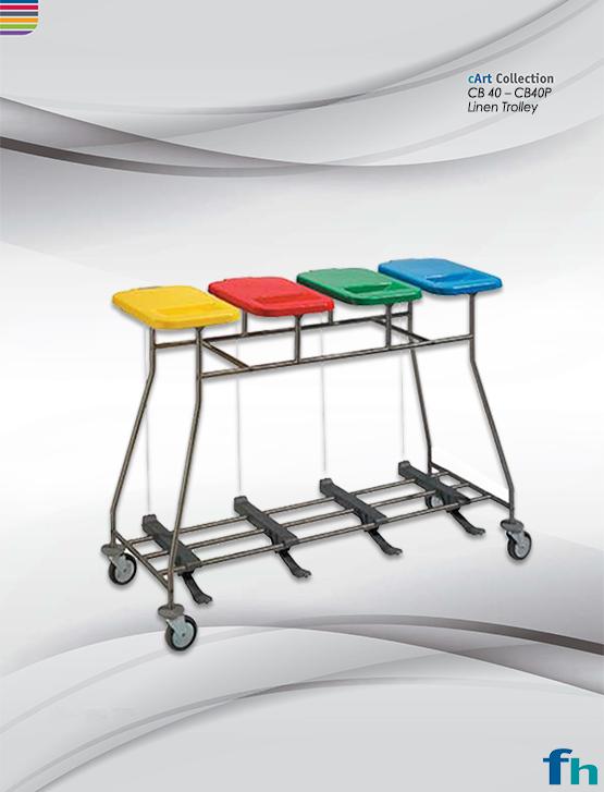 CB 40L - CB40PL Linen Trolley
