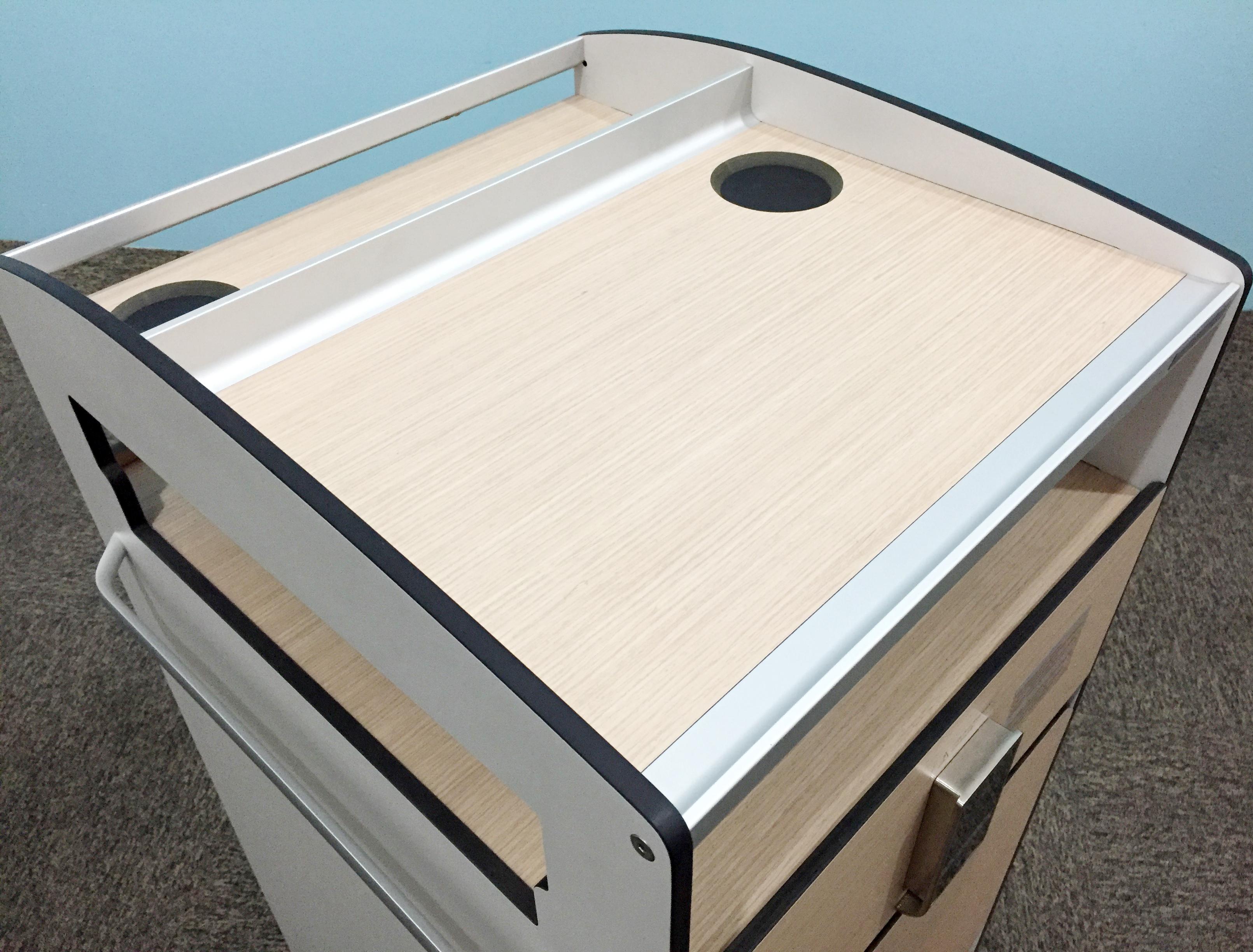Bedside Cabinet w/ table BS-04