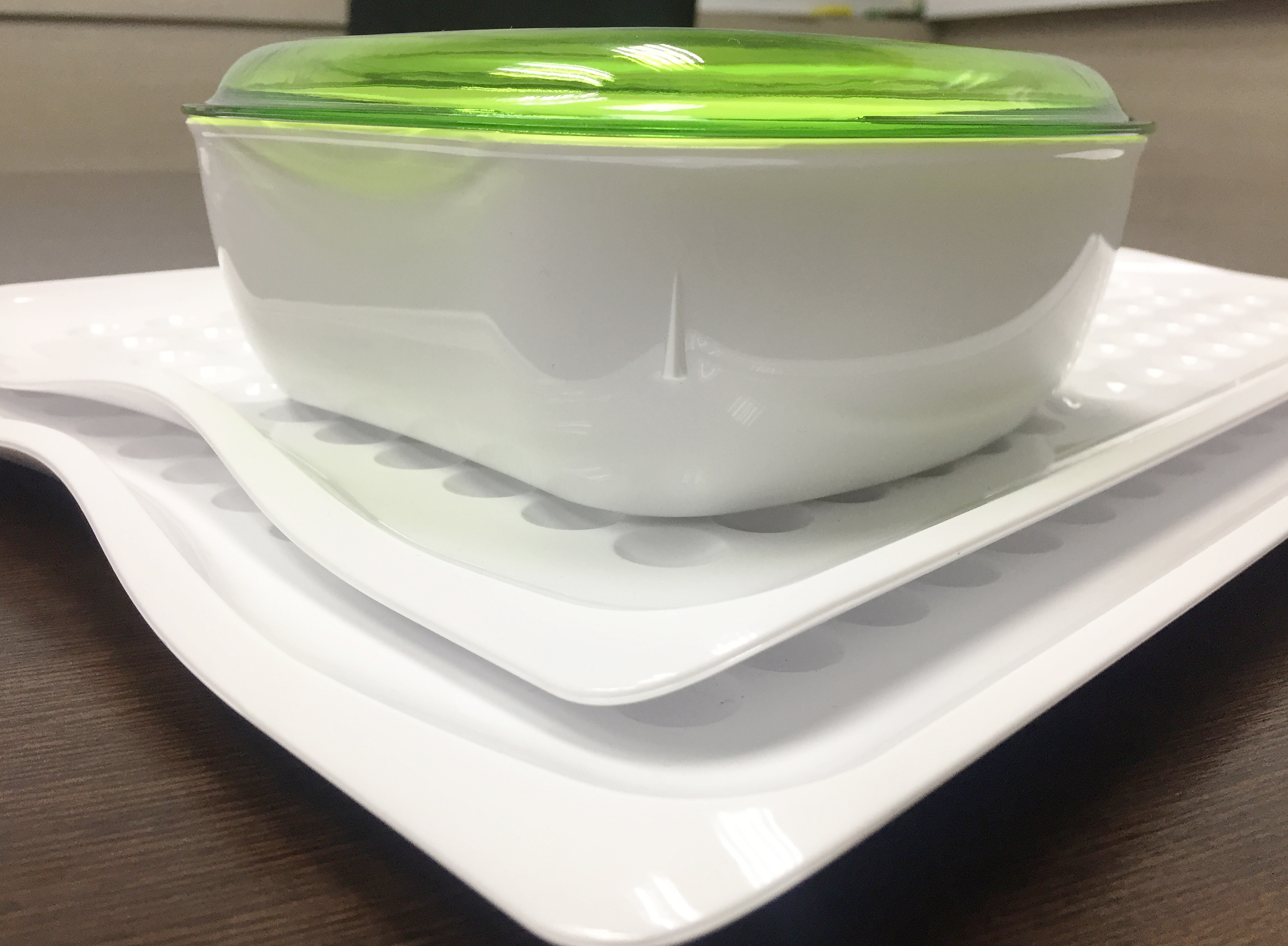 Dimpled Serving Tray