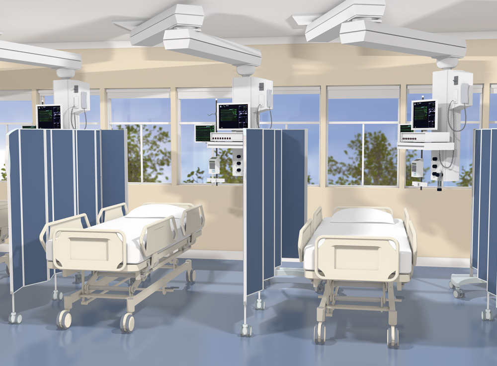 hospital curtains, healthcare screen, disposable, covid, partition mobile, clinic, soc