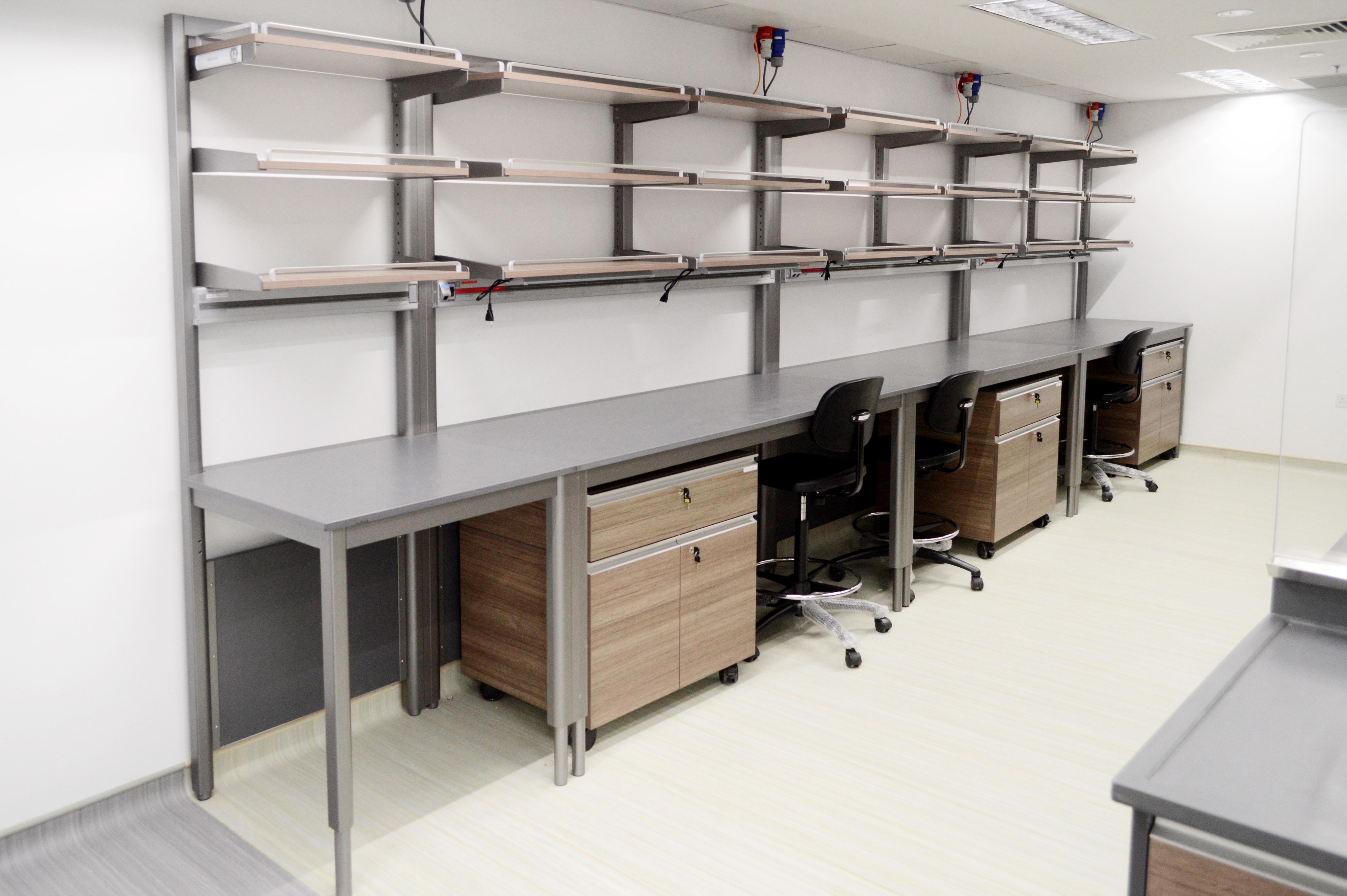 LT Wall Lab Bench 1