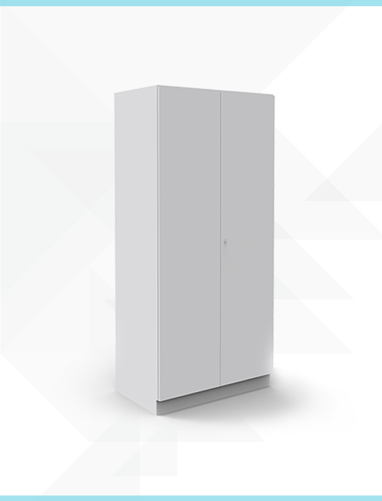 Soild Door Full Height Cabinet