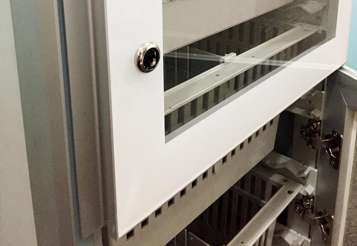 2) ISO Modular Shelving MS-05