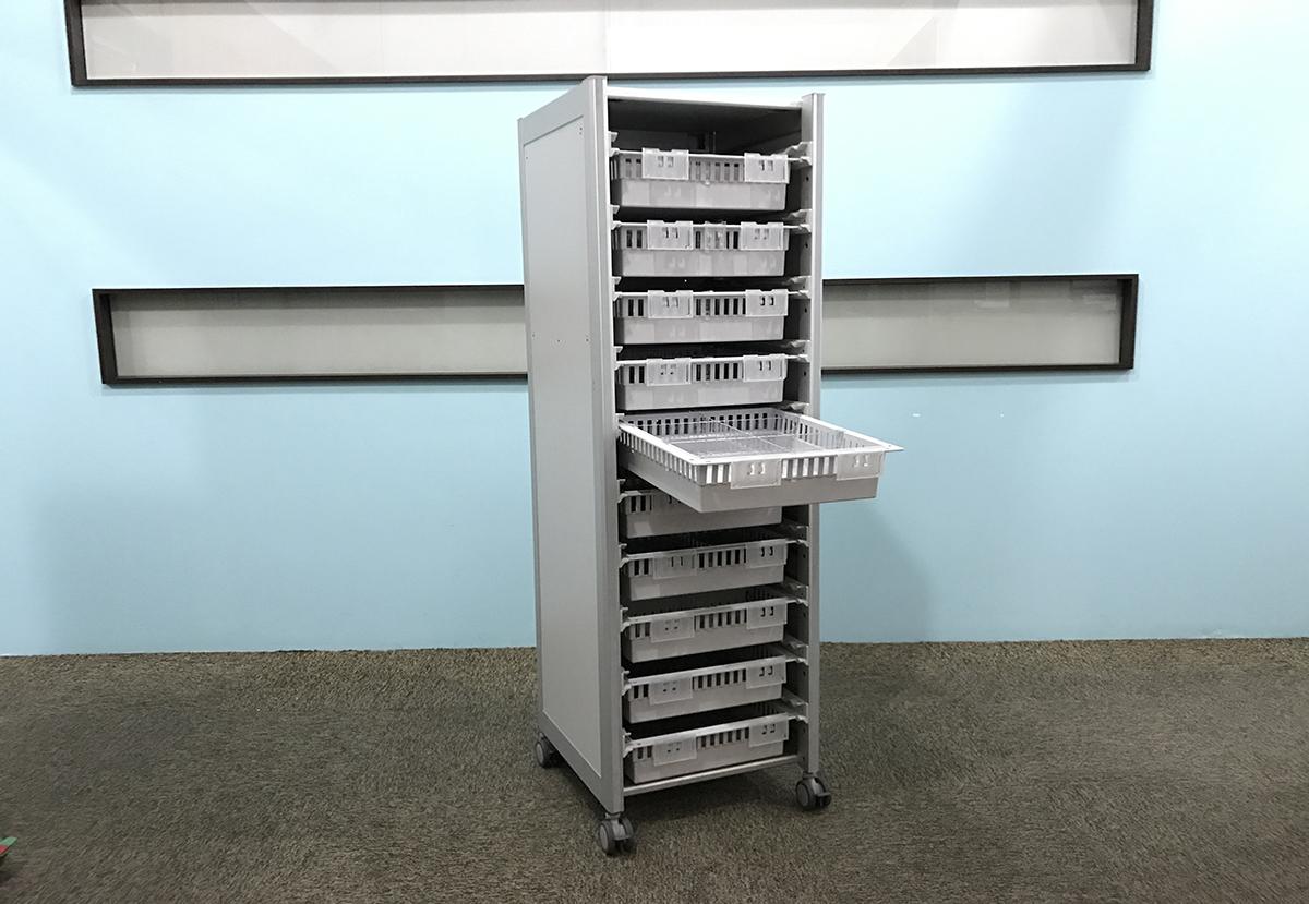1) ISO Modular Shelving MS-01
