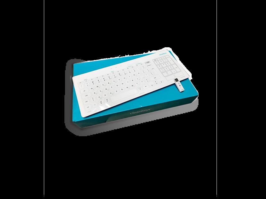 Cleankeys Wireless Keyboard (Gett)
