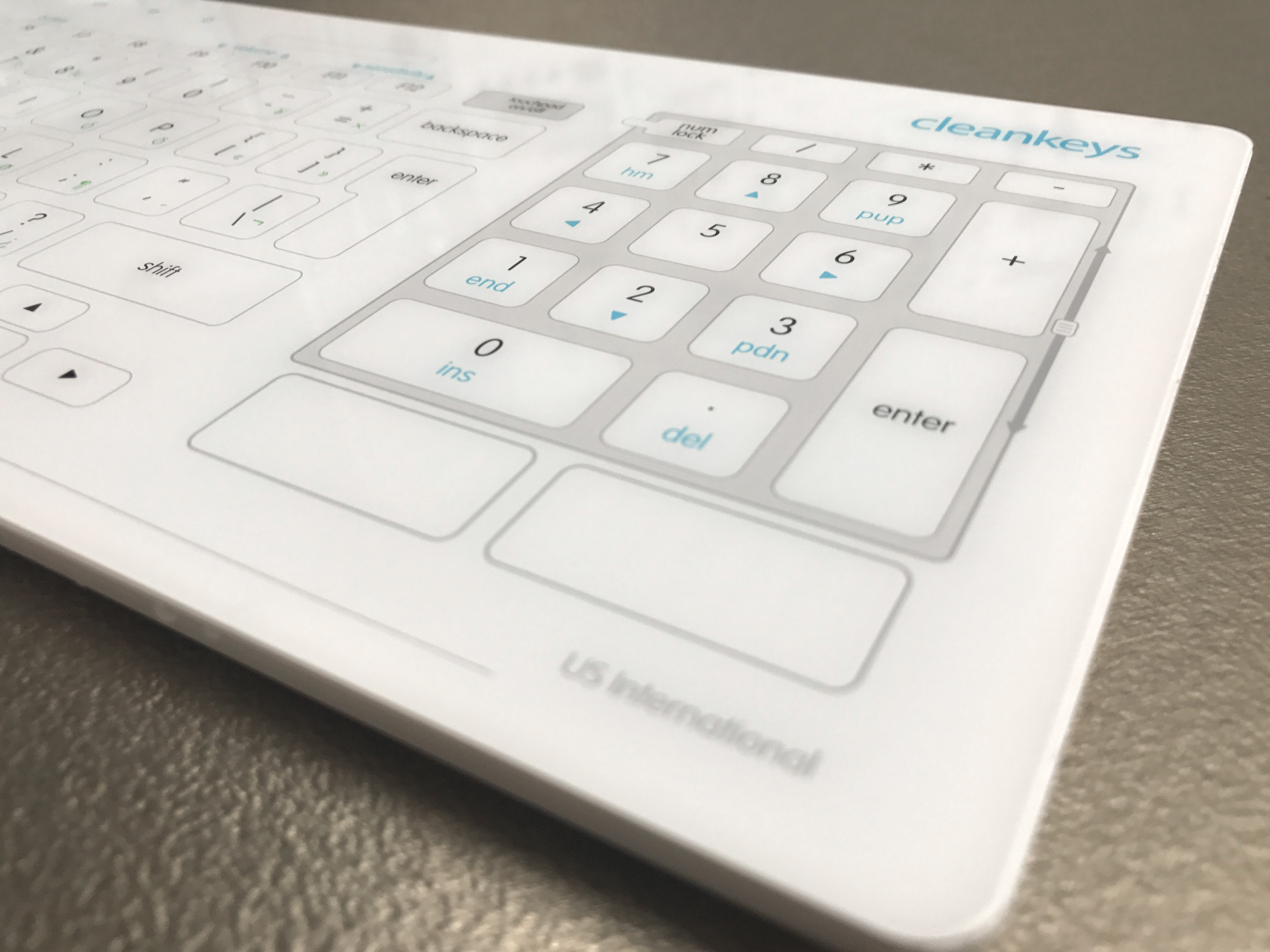Cleankeys Wireless Keyboard