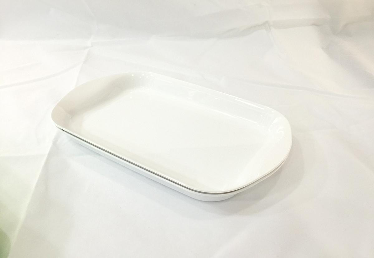 4) Ripple Serving Plate