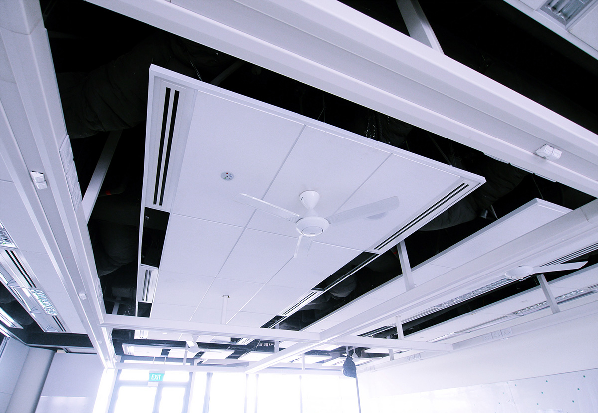 1) Ceiling Trunking