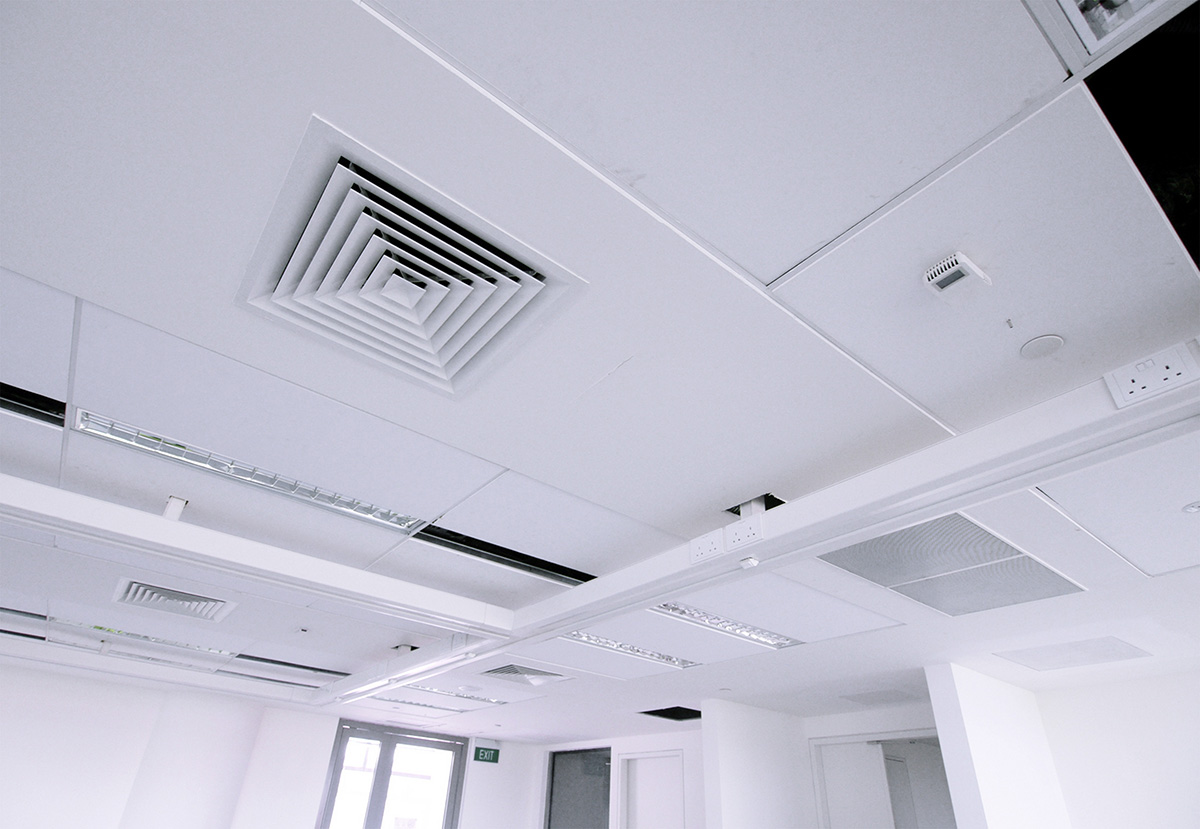 7) Ceiling Trunking