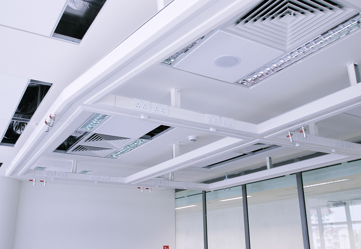 8) Ceiling Trunking