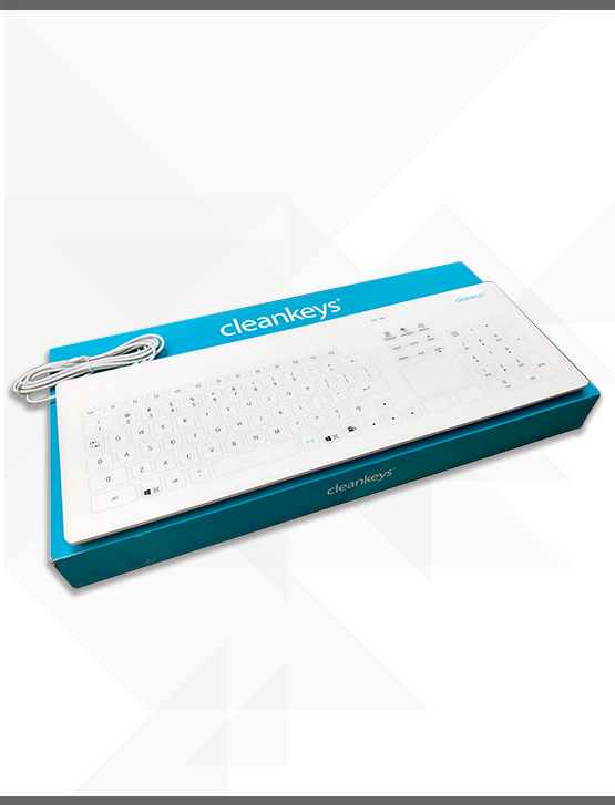 Cleankeys Glass Keyboard (Gett)