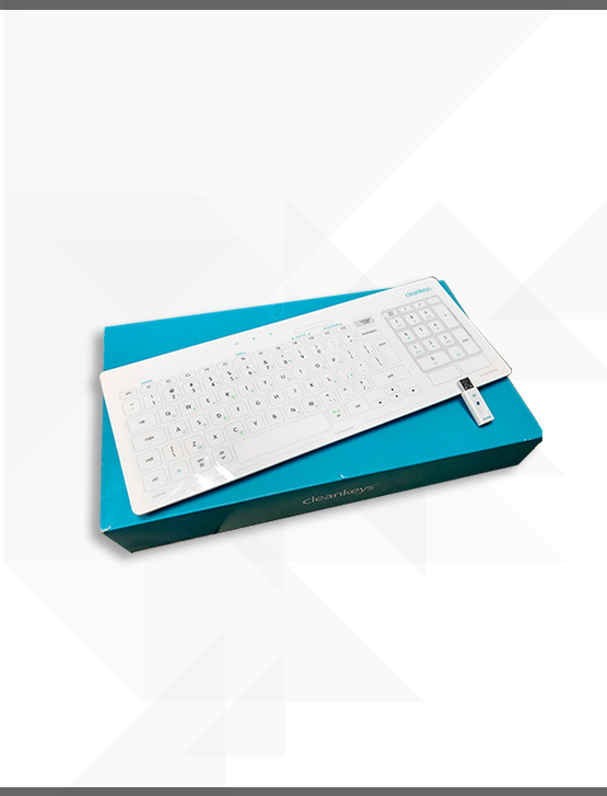Cleankeys Wireless Keyboard (Gett)