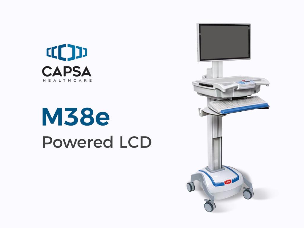 M38e Powered LCD