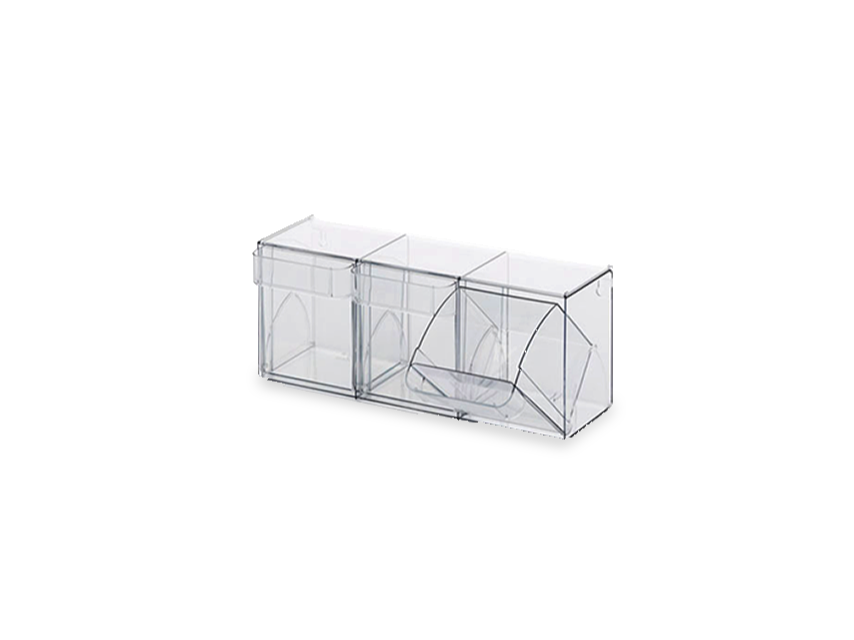 Tipping Box modules Transparent