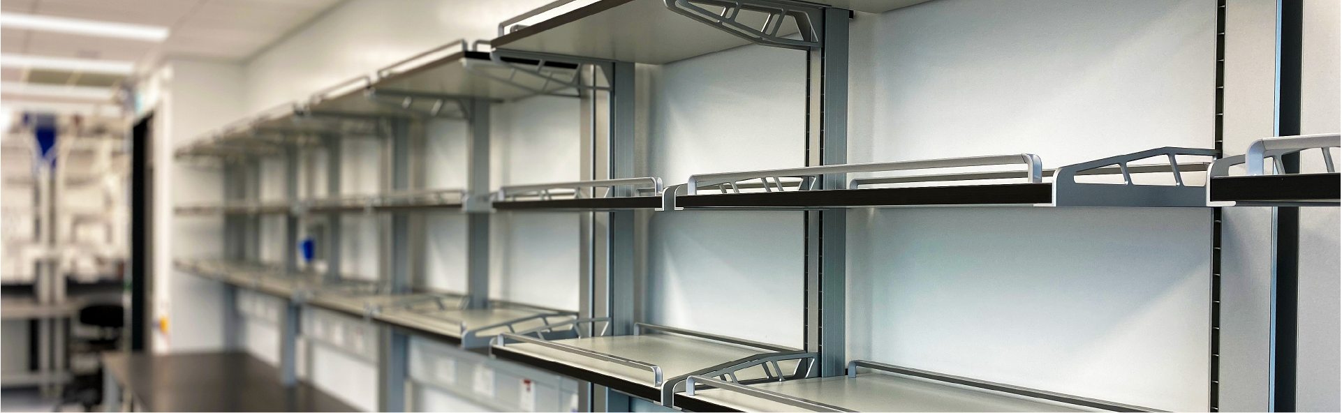 Solid Standing Open Shelf