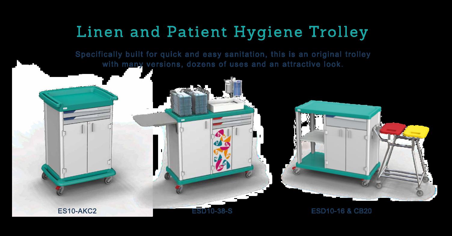 ESSENTIAL – Linen & Patient Hygiene Trolley